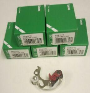 5x Lucas DSB101C 422228 423153 25D4 Contact Points for Austin Morris MG Triumph