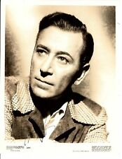 GEORGE RAFT ACTOR DECEASED SIGNED 8X10 JSA LETTER AUTHENTICATION COA #Y78104