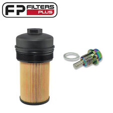P7436 Baldwin Oil Filter with Lid + MSP14125 Magnetic Sump Plug - F250 6.0L