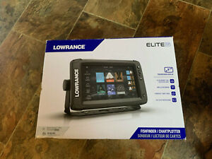 "NEW Lowrance Elite-9 Ti2 Active Imaging 3-in-1 Fish Finder 9"" Touchscreen NIB"