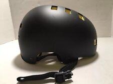 """Mongoose Bike Helmet Youth Hardshell Black Yellow MG76651 Inside 22"""""""