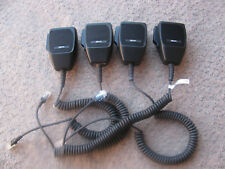Lot of 4 M/A-COM MC101616V20-R2A Mobile Radio Microphone