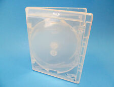 NEW! 10 VIVA ELITE Blu-ray CLEAR 3-Disc Cases - Holds 3 discs Triple
