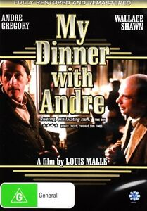 MY DINNER WITH ANDRE DVD *BRAND NEW AND SEALED*