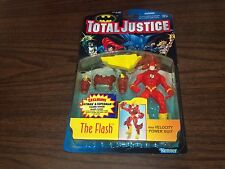 1996 TOTAL JUSTICE THE FLASH ACTION FIGURE with VELOCITY POWER SUIT
