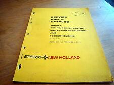 New Holland 962N3 962N4 962N6 962W4 Header Parts Catalog List Book Manual NH