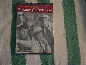 The Andy Griffith Show (DVD, 2004) 3 Full Length Episodes, Golden Movie Cl   NEW