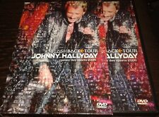 JOHNNY HALLYDAY DVD AVEC FOURREAU FLASHBACK TOUR 2006