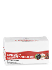 Integratore energia GINSENG ELEUTEROCOCCO CARNITINA 10flaconcini - Linea Succi