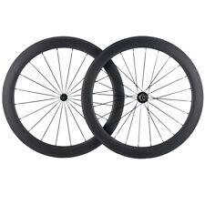 700C Carbon Wheelset 60mm Tubular Road Bike Wheel 25mm Width Wheel R13 Hub Shima