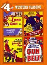 Movies 4 You Western Classics Lone Gun Gunsight Ridge Belt Revenge Region 1 DVD