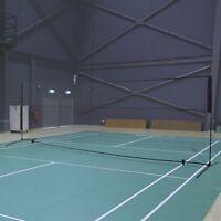 HOMCOM 5m Badminton Tennis Net Portable w/ Carry Bag Indoor Outdoor Sports