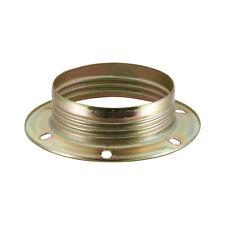E27 Metall Unterring Metallgegenring Fassung Lampenfassung Vermessingt