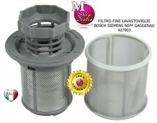 Filtre Fin 00427903 10002494 Lave-vaisselle Bosch Siemens Neff rd ORIGINAL °