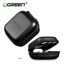 UGREEN Headphone Case Bag Portable Earbud Hard Box Storage for Memory Card Cable