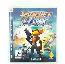 Ratchet & Clank opération destruction - Jeu PS3 - Complet - PAL FR