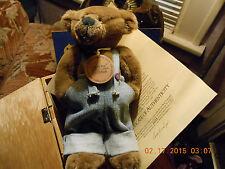 "bonita bear,  used but new in  box 9"" OWEN, #12612"