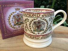 EMMA BRIDGEWATER rare Ltd Ed Diamond Jubilee One pint MUG Mulberry Hall Royal