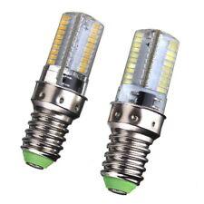 10pcs E14 White/Warm AC 120V 220V 80-3014 SMD LED Silicone Bulb Dimmable Light