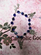 8mm Blue Circle of Angels Chaplet