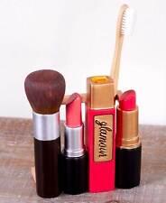 2-Pc. Lipstick Eyeshadow Bath Accessory Hollywood Glamour Makeup Accessory Set