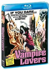 Blu Ray THE VAMPIRE LOVERS Peter Cushing 1970 horror. Region free. New sealed.