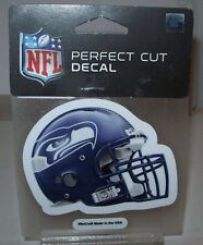 SEATTLE SEAHAWKS HELMET WINCRAFT 4X4 DECAL STICKER