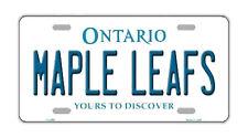 Metal Vanity License Plate Tag Cover - Toronto Maple Leafs - Hockey Team