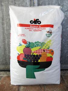 BIOTRON S Concime Biologico Leonardite acidi umici e fulvici conf 30 kg CIFO