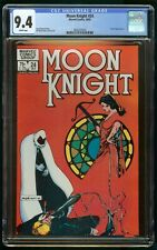 MOON KNIGHT #24 (1982) CGC 9.4 WHITE PAGES MARVEL COMICS