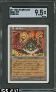 1997 Magic: The Gathering Urza's Mine 5th Edition SGC 9.5 MINT+