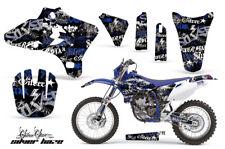 Dirt Bike Graphics Kit Decal Wrap For Yamaha WR250 WR450F 2005-2006 SSSH BLU BLK