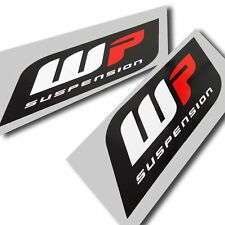 WP suspension fourches autocollants autocollants pour moto personnalisé