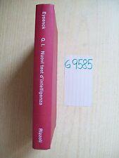 H. J. EYSENCK - Q.I.: NUOVI TEST D'INTELLIGENZA - RIZZOLI - 1970