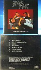 Big Talk - Time Of Dreams... (CD, 1993, Artist's Label, German Indie) RARE