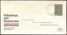Paesi Bassi 1968 olandese INNO NAZIONALE FDC primo giorno Coperchio #C 27333