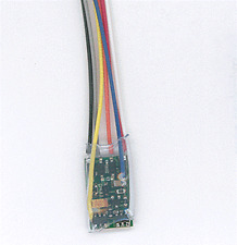 """N/Z DCC Decoder, 3"""" Wires 4-Function 1A, NCE Corporation 129"""
