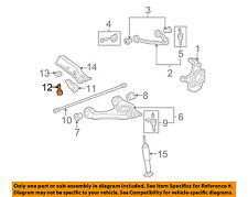 GM OEM Front Suspension-Torsion Arm Adjust Bolt 11612276