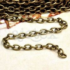 20m Iron Cable Antique Brass Unfinish Link Chains 5xch113-4