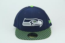 new york 71d83 38a53 Seattle Seahawks New Era 59fifty Hat Cap NFL 2017 On Field NWT Fitted 7 3