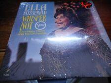 Ella Fitzgerald Whisper Not LP In Shrink