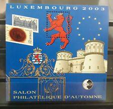 France année 2003 bloc cnep 39 neuf luxe ** salon philatélique Luxembourg