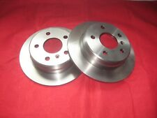 MERCEDES A-CLASS W169 B-CLASS W245 REAR SOLID BRAKE DISCS X2 PAIR 258MM BREMBO