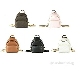 Michael Kors Erin Small Leather Convertible Backpack Crossbody Shoulder Bag