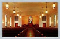 Parkersburg WV, Stout Memorial Methodist Church, Chrome West Virginia Postcard