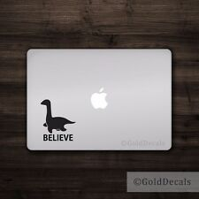 Believe Loch Ness - Vinyl Decal Car Truck Mac Sticker Animal Funny