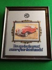 MG car collectable mirror