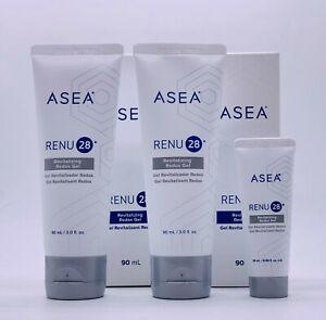 ASEA RENU28 Revitalizing Gel 90mlx2+10ml Cell Tech Breakthrough Anti-aging