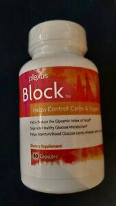 "Plexus Block 60ct Bottle ""NEW"" Weight Management Supplement ""Free Shipping"""