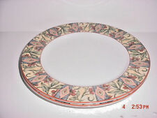 DOULTON CINNABAR PATTERN   2 DINNER PLATES  BY ROYAL DOULTON 1996-2008